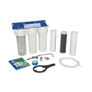 Kuchynský 3-stupňový poddrezový filter