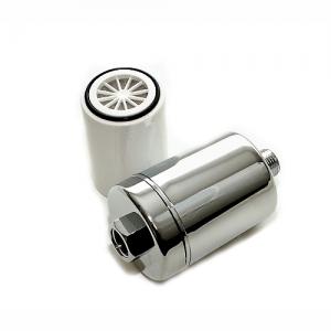 Sprchový filter SFCC uhlíkový - vymeniteľná náplň - chrómovaný