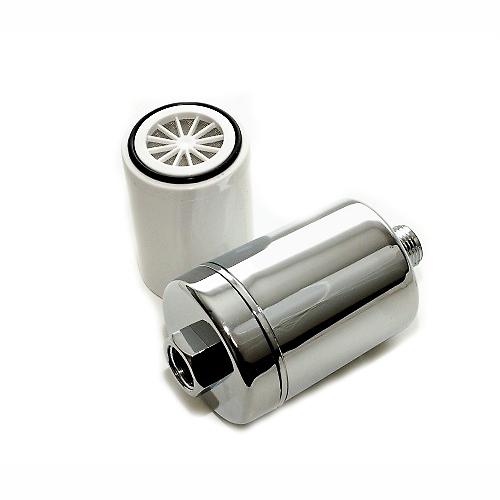 Sprchový filter SFCC - uhlíkový s možnosťou výmeny náplne - chrómovaný