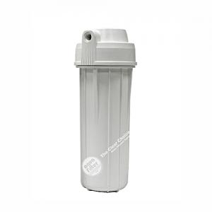 """Korpus filtra 10"""" biely - pripojenie 1/4"""" ( Reverzná osmóza)"""