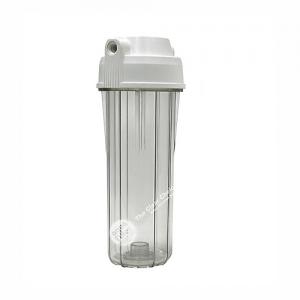 """Korpus filtra 10"""" priehľadný - pripojenie 1/4"""" ( Reverzná osmóza)"""