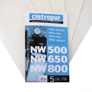 Filter CINTROPUR NW 500-650-800 náhradný rukáv - 100 mcr