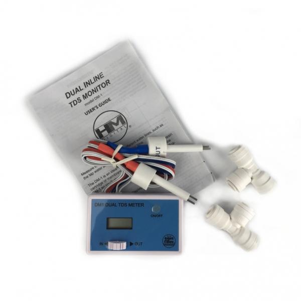 Duálny prietokový TDS meter s monitorom