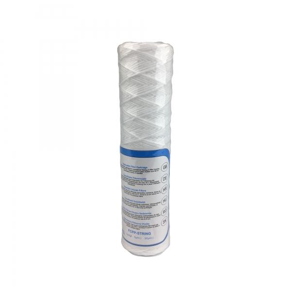 "Univerzálna šnúrková filtračná vložka 10""- 1 až 50 mikrónov"