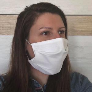 Ochranné rúško na tvár z bavlny